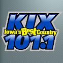 Iowa's Best Country KIX 101.1 icon