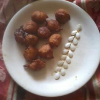 Bonda with mashed pumpkin/Sweet Pakoda