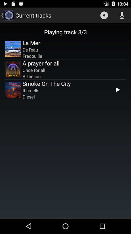 Loud Player - Audio player- screenshot