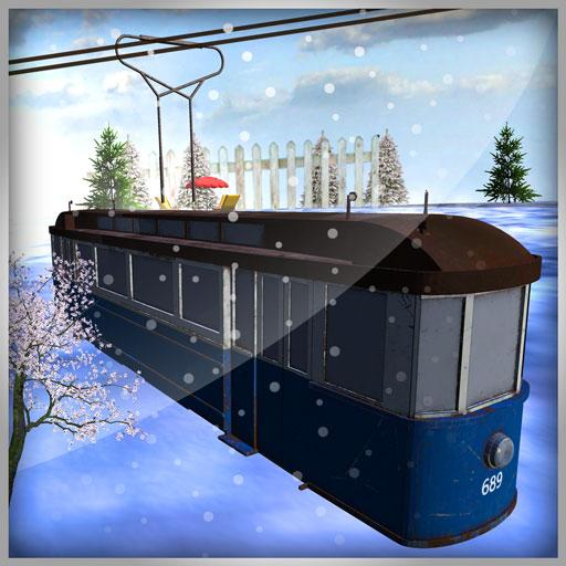 Mountain Sky Tram Simulator : transport game