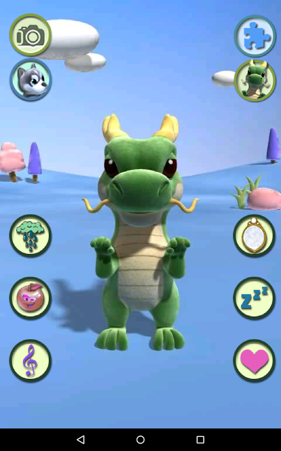 Talking Dragon- screenshot