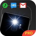 Flash Alert - Automatic Flash on Call, SMS icon