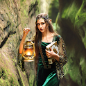 Elvish visionary icon