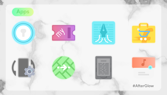 Afterglow Icons Free Screenshot