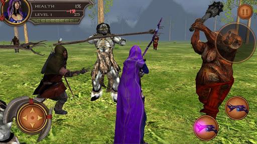 Elementalist Survivor Sim 3D