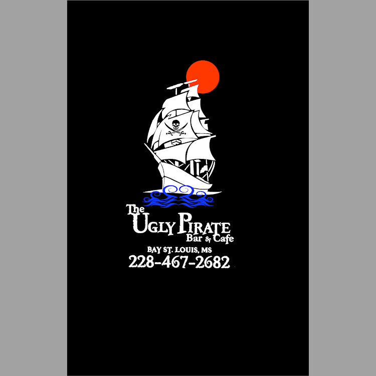 Logo for The Ugly Pirate Cafe and Bar