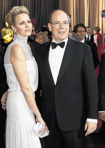 Princess Charlene and Prince Albert of Monaco Picture: SHELLEY CHRISTIANS