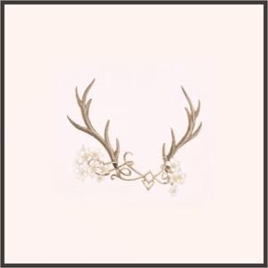 妖精の鹿角