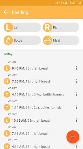 Baby tracker - feeding, sleep and diaper 1.0.89 screenshots 4