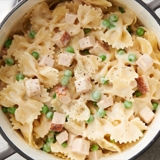 Bow Tie Pasta With Alfredo Sauce Recipes.