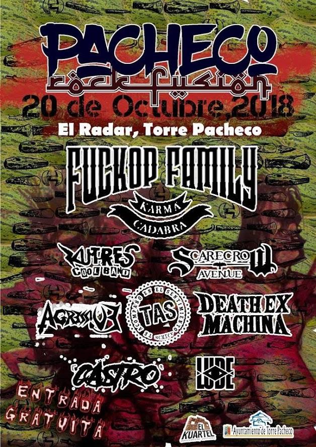 pacheco rock fusion 2018
