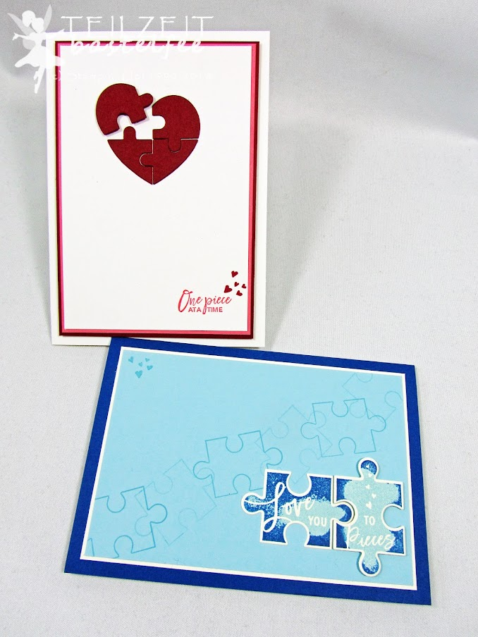 Stampin' Up! - Inkspire_me, love you to pieces, Valentine's Day, Love, Liebe