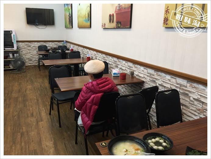 禾糖台南鹹粥環境