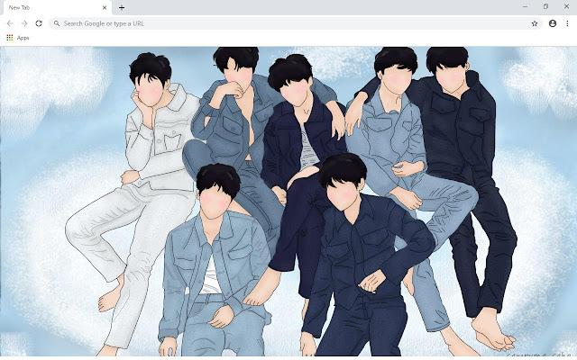 Jimin & Jungkook BTS Wallpapers and New Tab
