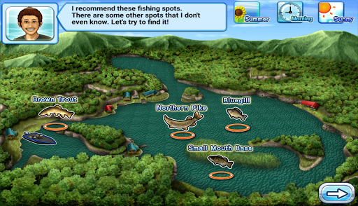 Bass 'n' Guide : Lure Fishing Screenshot