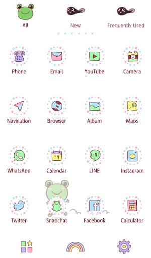 Cute Wallpaper  Friendly Frogs 1.0.0 Windows u7528 3