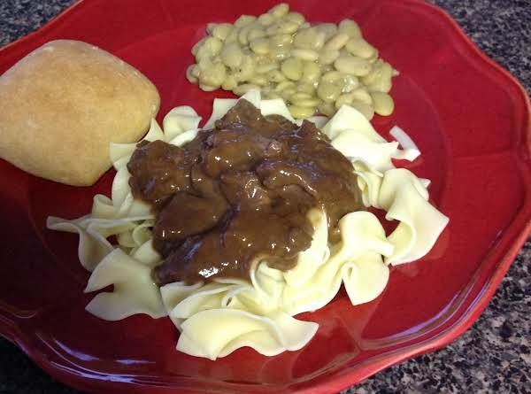 Quick & Easy Beef Tips Recipe