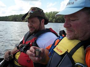 Photo: Dragan és Dejan (a TID szerbiai főszervezője) Belgrádtól velem eveztek egy napot és elláttak mindennel :)
