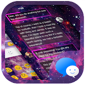 Star Galaxy Message Theme