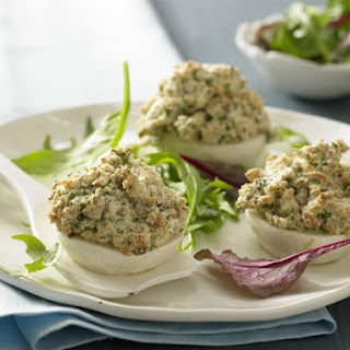 Baked Turnips with Sesame Crust