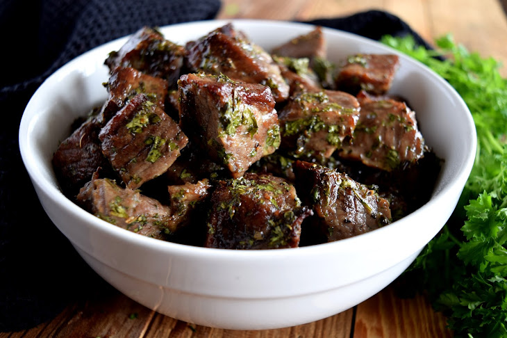 Roasted Herbed Beef Tips Recipe