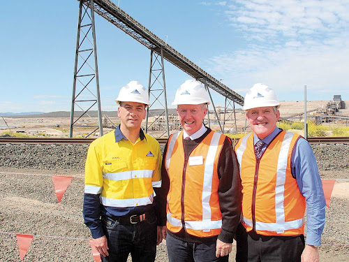 Minister Opens Maules Creek Mining Operation
