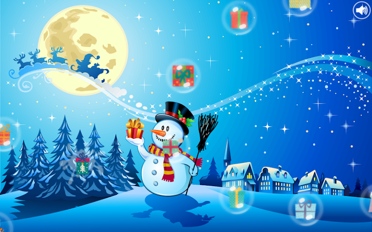android Christmas Bubbles for Kids Screenshot 6