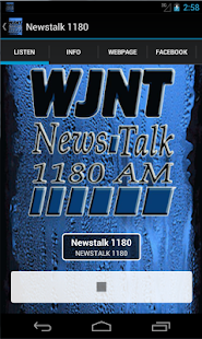 Newstalk 1180- screenshot thumbnail