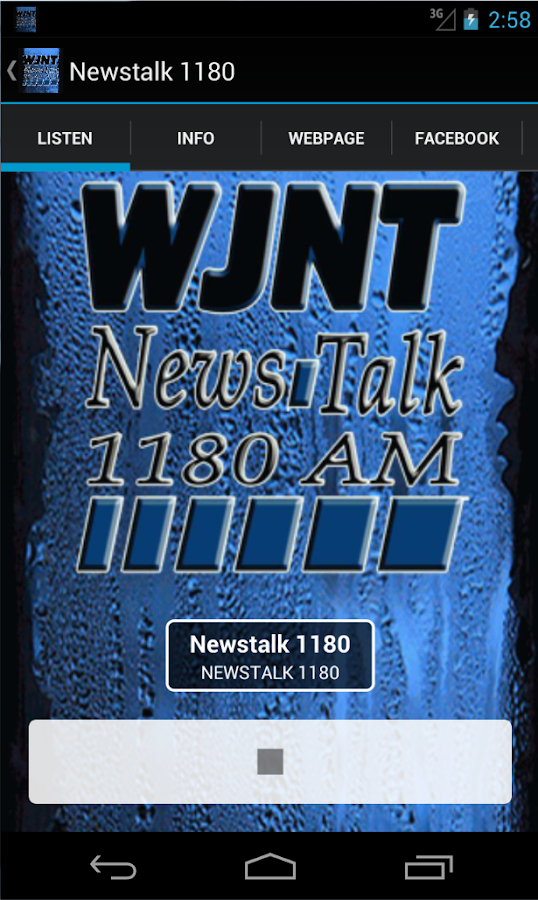 Newstalk 1180- screenshot