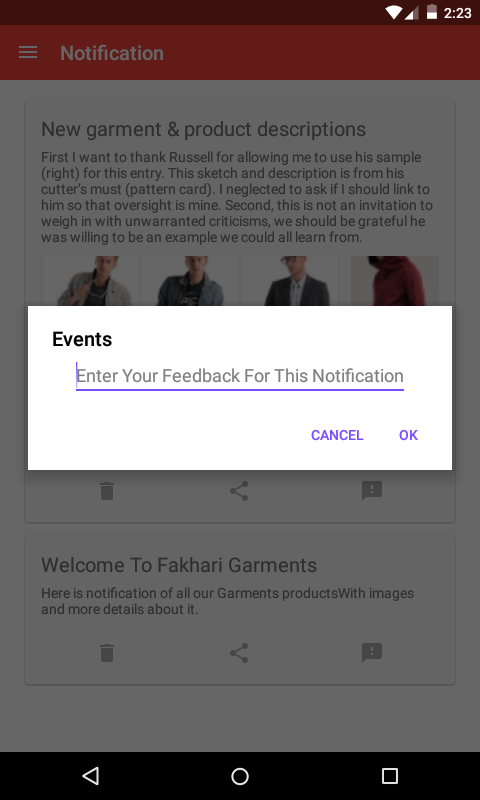 Fakhri Garments- screenshot