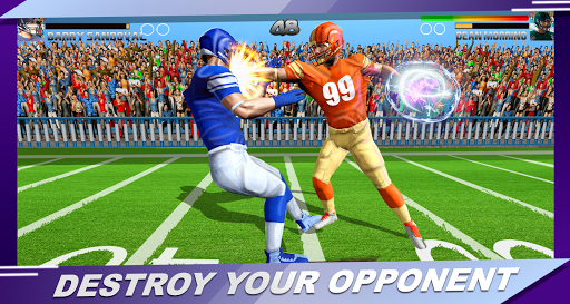 Football Rugby Players Fight screenshot