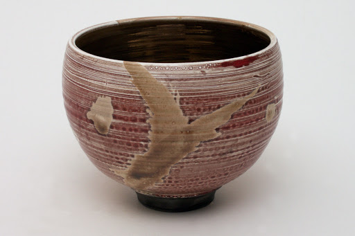 Bruce Chivers Ceramic Raku Tea Bowl 07