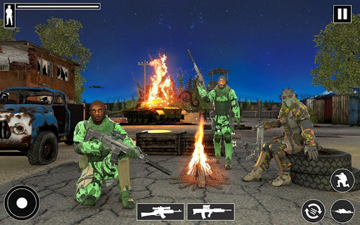 Real Commando Shooter: FPS Shooting Games Free apktram screenshots 18