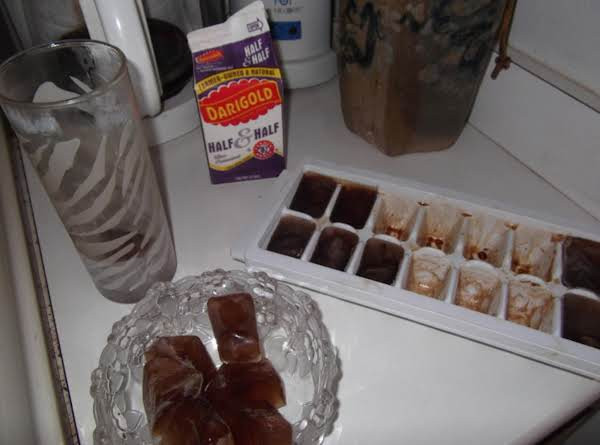 Coffee Ice Cubes Recipe