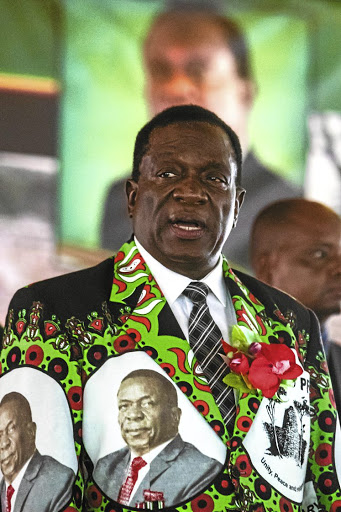 Emmerson Mnangagwa:  Intent on pulling Zimbabwe out of the cave of isolationAFP / Jekesai Njikizana