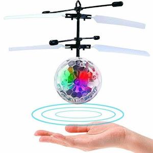 Glob disco zburator cu elice - ghidat de miscarile mainii