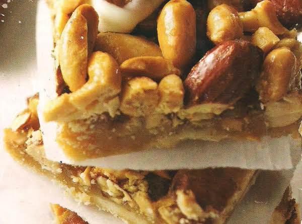 Maple Nut Pie Bars Recipe