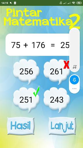 Pintar Cerdas Matematika 2 1.6 screenshots 4