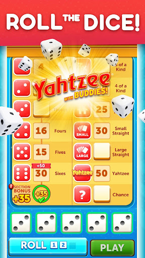 YAHTZEEu00ae With Buddies Dice Game 7.1.0 screenshots 1