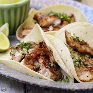Grilled Red Snapper Tacos.