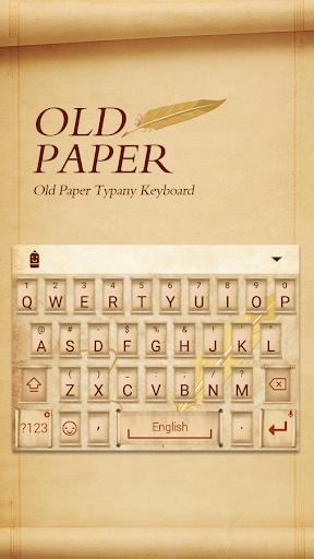 mod Old Paper Typany Theme 4.5 screenshots 1