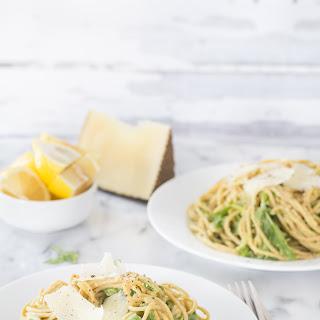 Creamy Avocado Arugula Pasta Recipe