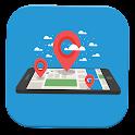Mobile tracker mobile icon