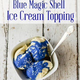 Blue Magic Shell Recipe for the Fourth of July