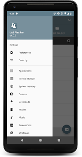 UNZIP & ZIP - FILE EXPLORER PRO Screenshot