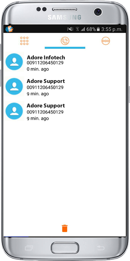 Adore Mobile  Softphone- screenshot