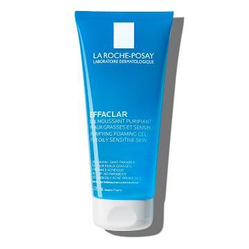 Gel limpiador facial piel grasa y/o tendencia acnéica la roche posay effaclar gel 200 ml