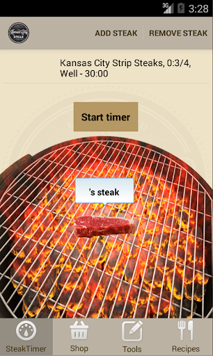 Steak Timer Recipes - Free
