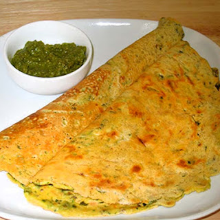 Besan Puda (Gram Flour Dosa)