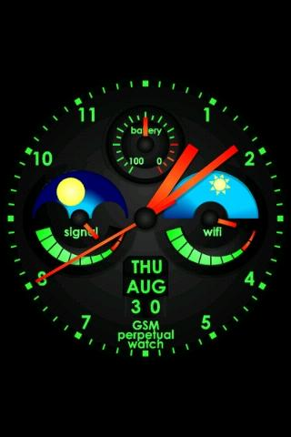 Perpetual Watch Live Wallpaper Screenshot 7